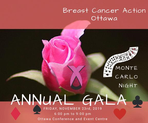 2019 Breast Cancer Action Ottawa Annual Gala
