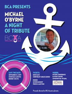 BCA Presents - A Night of Tribute – Michael O'Byrne @ Ottawa Conference and Event Centre